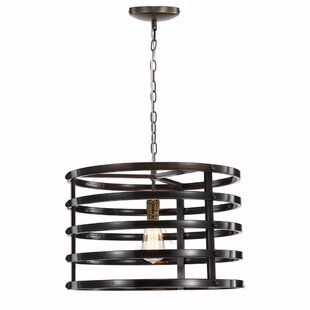 Ivy Bronx Sanora Ring 1-Light Drum Pendant