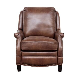 Ashebrooke Leather Manual Recliner Darby Home Co