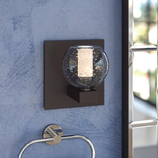 Dayna 1-Light Bath Sconce by L..