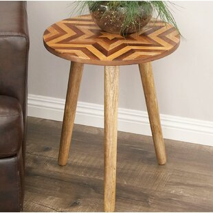 Point Arena End Table by Bungalow Rose