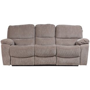 Reza Plush Reclining Sofa by Red Barrel Studio