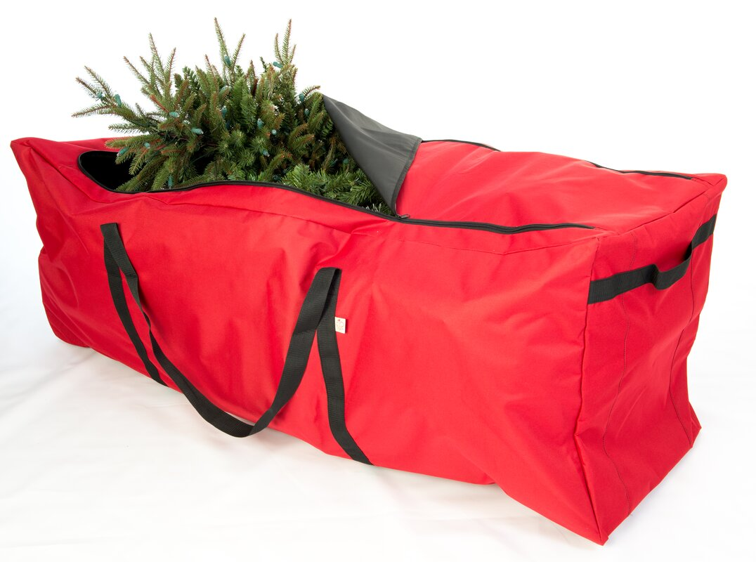 santas bags premium christmas extra large rolling tree storage duffel - Christmas Tree Bag Storage