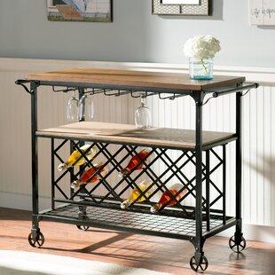 August Grove Anne Marie Bar Cart