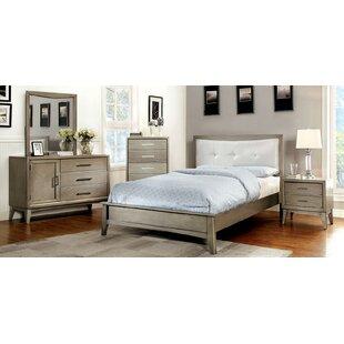 Albarado California King Platform Configurable Bedroom Set