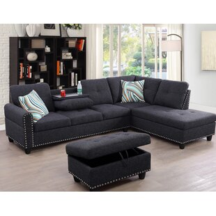 Charlton Home Sciortino Sectional with Ot..