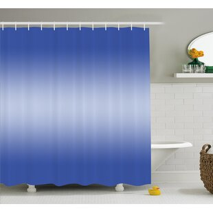 Inspired Sunset Evening Scene Shower Curtain + Hooks