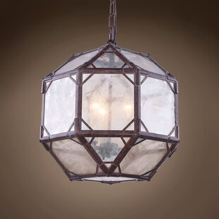 Gracie Oaks Isabell 4-Light Globe Chandelier