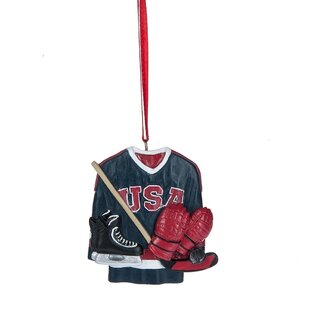Specialty Hockey Gear Ornament by The Holiday Aisle