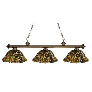 Bristoly 3-Light Pool Table Light Pendant by Fleur De Lis Living