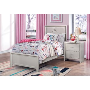Lawncrest Upholstered Panel Bed by House of Hampton