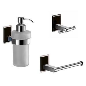 Bathroom Hardware black bathroom hardware sets you'll love | wayfair