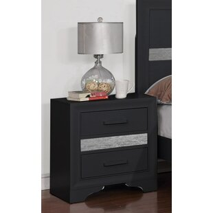 Geist 2 Drawer Nightstand