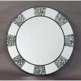 Highland Dunes Nantwich Shell Accent Mirror
