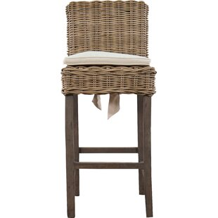 Roshan Indoor Rattan Patio Bar Stool