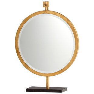 Best Reviews Westwood Mirror on Stand By Cyan Design