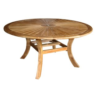 Solid Wood Dining Table by Darby Home Co