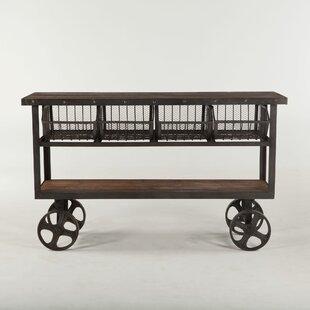 Chute Reclaimed Bar Cart by Gracie Oaks