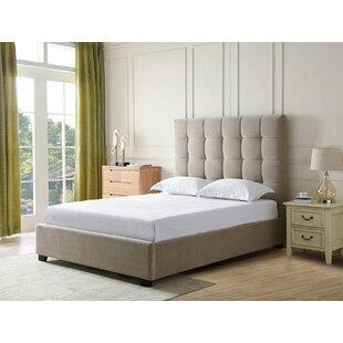Leet Upholstered Panel Bed by Alcott Hill