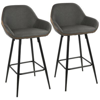 Groovy Mercury Row Rylee 26 Bar Stool Machost Co Dining Chair Design Ideas Machostcouk