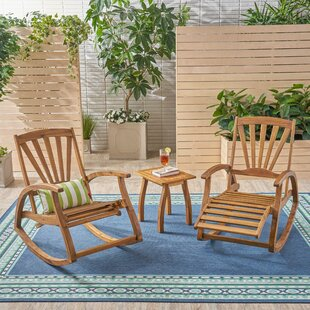 Woolsey 3 Piece Seating Group Set