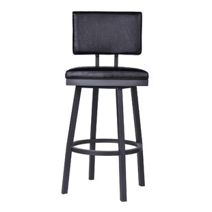 Nakagawa 30 Swivel Bar Stool Williston Forge