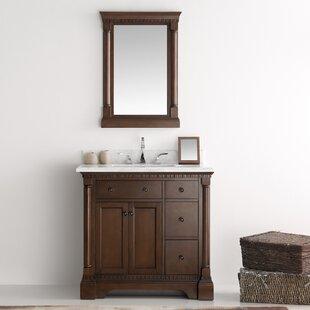 Order Kingston 37 Single Bathroom Vanity Set with Mirror ByFresca