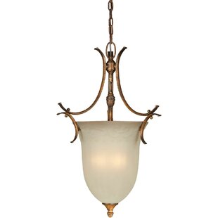 Fleur De Lis Living Bluefield 3-Light Urn..