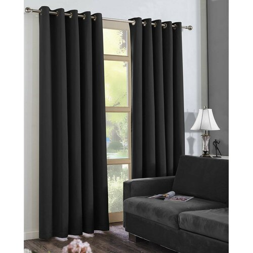 Claudine Eyelet Blackout Thermal Curtains Zipcode Design