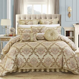 Aubrey 13 Piece Comforter Set by Chic Home