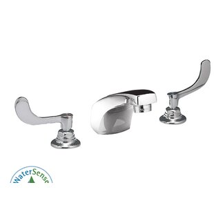 Best Deals Monterrey Widespread Bathroom Faucet with Double Wrist Blade Handles By American Standard
