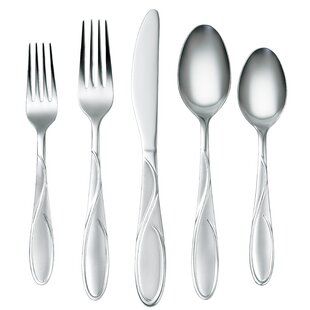 Gabriella 60 Piece Flatware Set, Service For 12 by Cambridge Silversmiths Savings