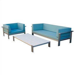 Luma Seating Group with Cushions by Modern Outdoor
