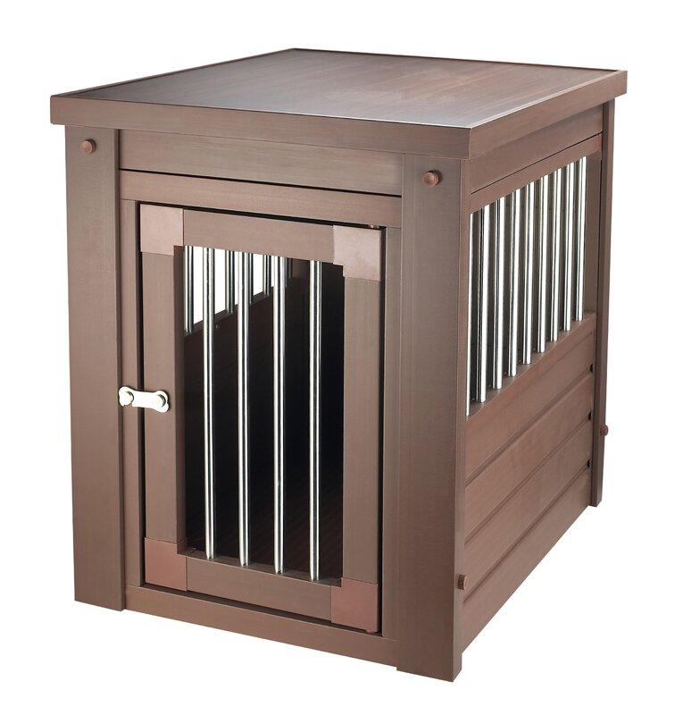New Age Pet Ecoflex Pet Crate End Table Reviews Wayfair
