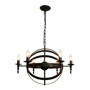 Extra large rustic chandeliers wayfair covent rustic 6 light chandelier aloadofball Choice Image