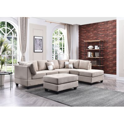 Grey Reversible Sectionals You Ll Love In 2020 Wayfair