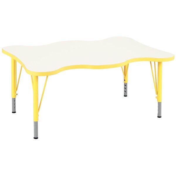 TotMate My Place Play Rectangular Activity Table U0026 Reviews | Wayfair