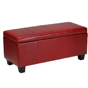 Vera Leather Cocktail Ottoman