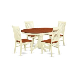 Piland 5 Piece Breakfast Nook Dining Set