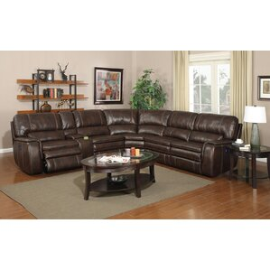 Brydon Reclining Sectional by Loon Peak