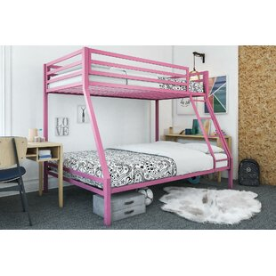 Makenzie Twin over Full Bunk Bed by Harriet Bee
