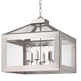 Darby Home Co Artus 6-Light Lantern Pendant