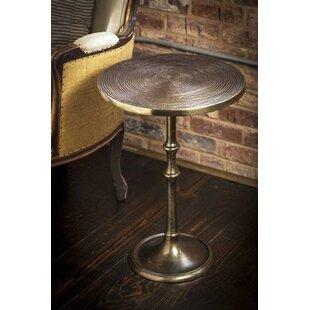 Suwanee Metal End Table by Charlton Home