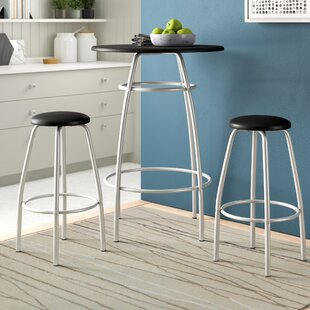 Olga 3 Piece 42 Pub Table & Stool Set by Zipcode Design