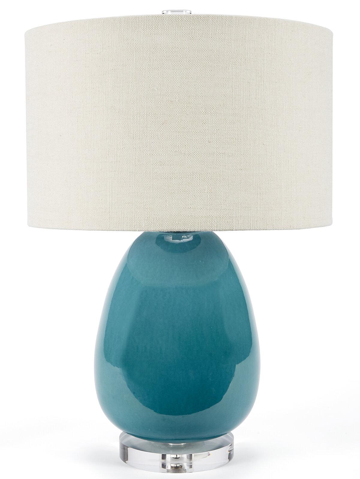 Designs Lighting 23 Turquoise Table Lamp Wayfair