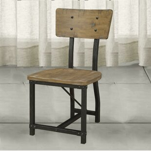 Leesa Metal Frame Dining Chair (Set of 2) by Williston Forge