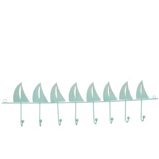 On Sale Evie Boats Wall Mounted Coat Rack