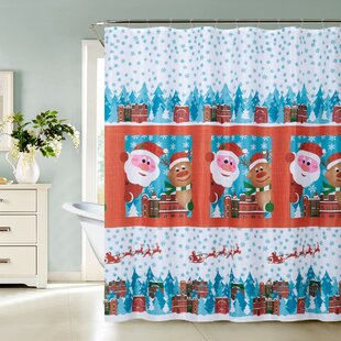 Leilani Christmas Jingle Single Shower Curtain