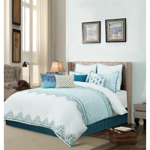 Leadwood Comforter Set by Bungalow Rose