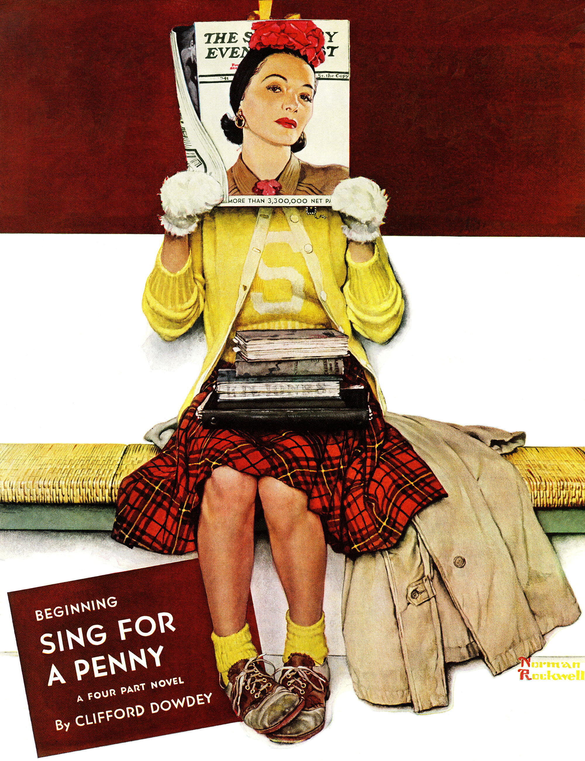Marmont Hill 'Cover Girl' by Norman Rockwell Painting Print on ...