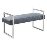 Steinman Upholstered Bench